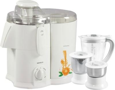Havells Endura GHFJMAHW050 500-Watt Juicer Mixer Grinder