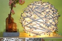DIY Unique Desktop Lamp - CraftSmile