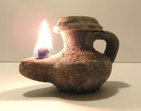 Biblical Oil lamp HolyLand Ancient Antique Roman Herodian ...