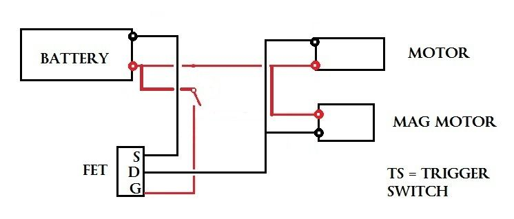airsoft mos fet wiring diagram