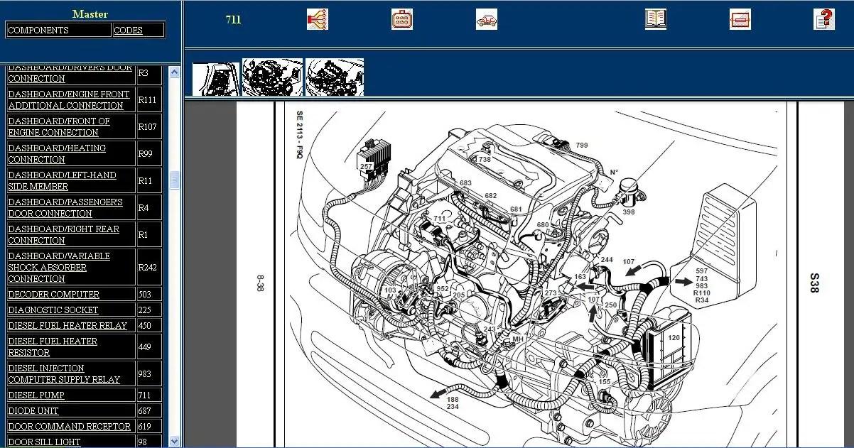 Diagram Renault Laguna Wiring Diagram Renault Wiring Diagram