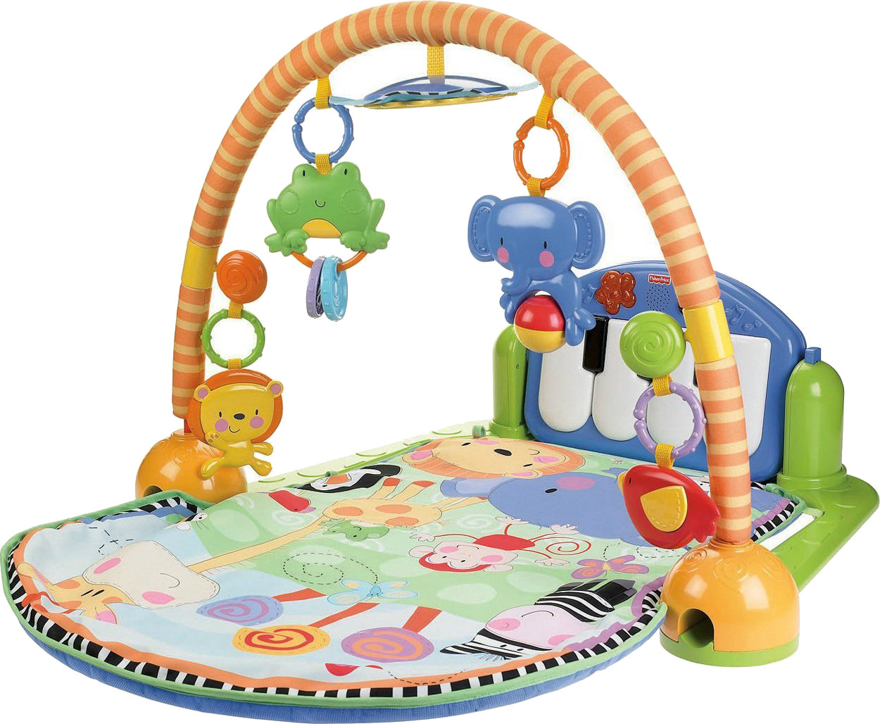 Newborn Baby Activity Toys Fisher Price Kick And Play Piano Gym Kick And Play Piano