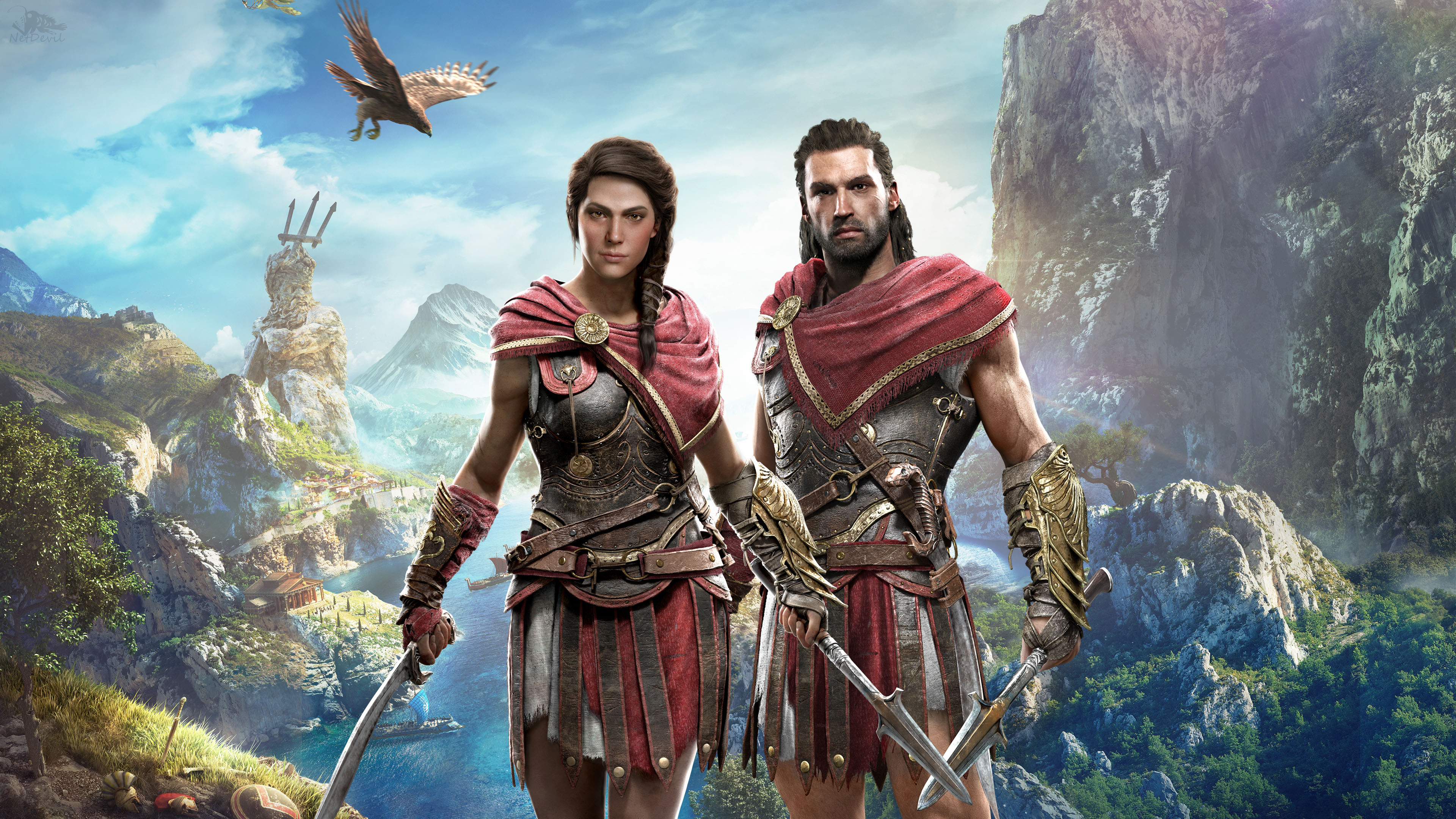 Hd Wallpapers Assassins Creed Kassandra 4k 8k Hd Assassin S Creed Wallpaper