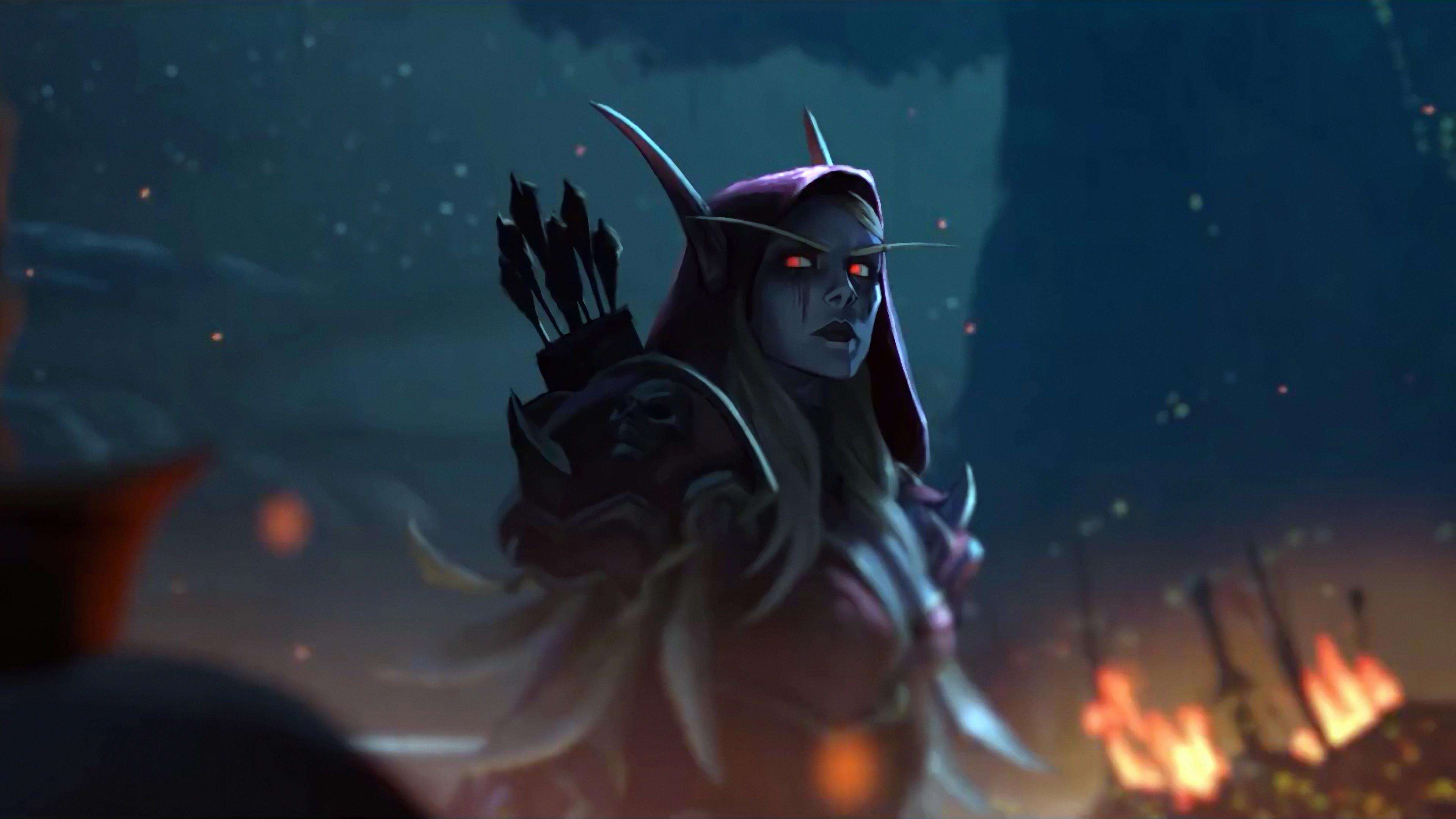 World Of Warcraft Wallpaper Hd Sylvanas Windrunner 4k 8k Hd World Of Warcraft Wallpaper 2