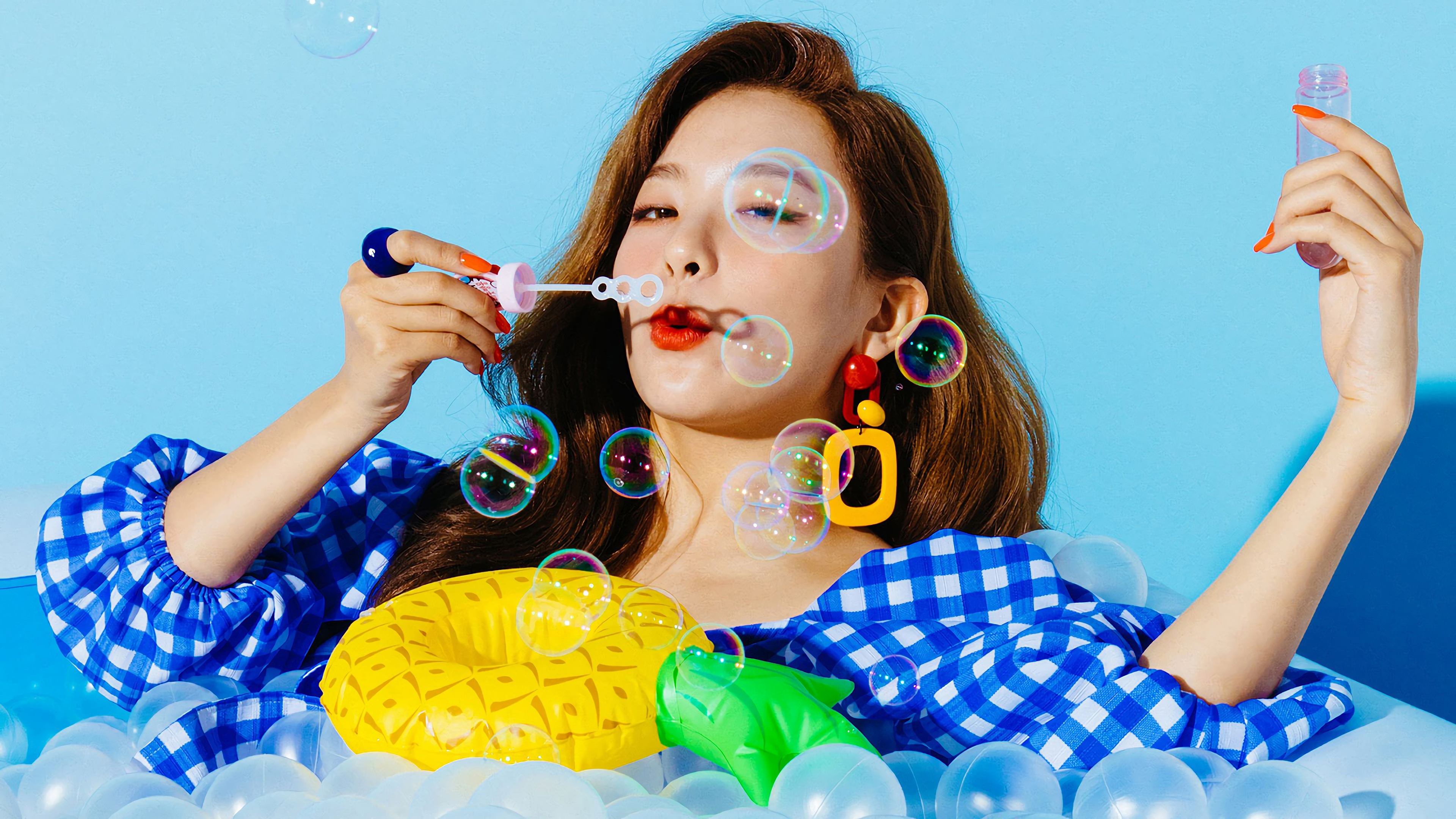 Red Velvet Desktop Wallpaper Hd Baik Bag