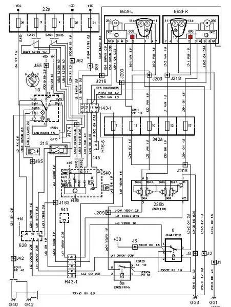 2001 saab 9 5 fuse diagram