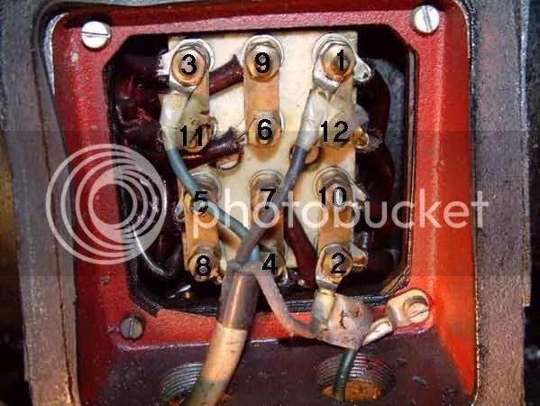 3 Phase Motor Wiring Diagram 9 Wire Motor circuit diagram template