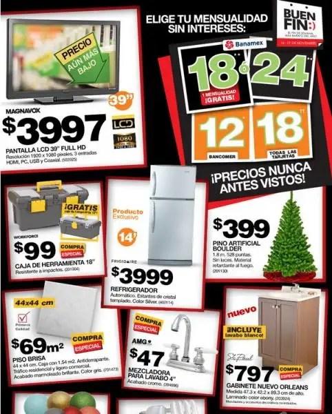 ofertas de home depot para el buen fin 2012