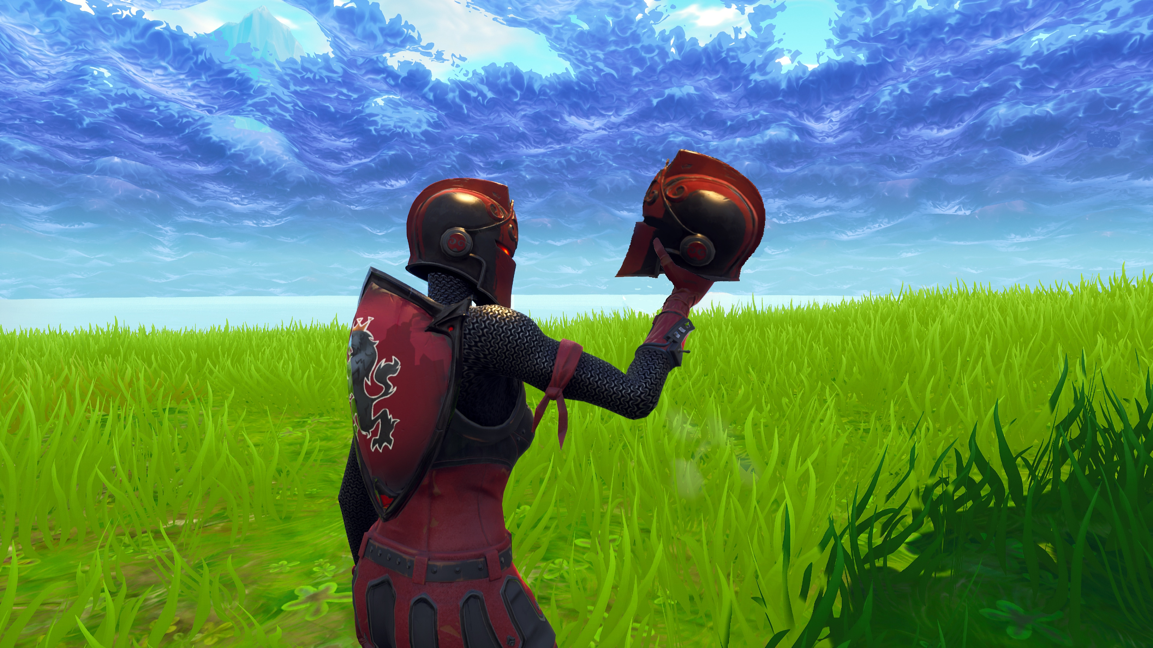 Cozy Red Knight 4k 8k Hd Fortnite Battle Royale Wallpaper Ivoiregion
