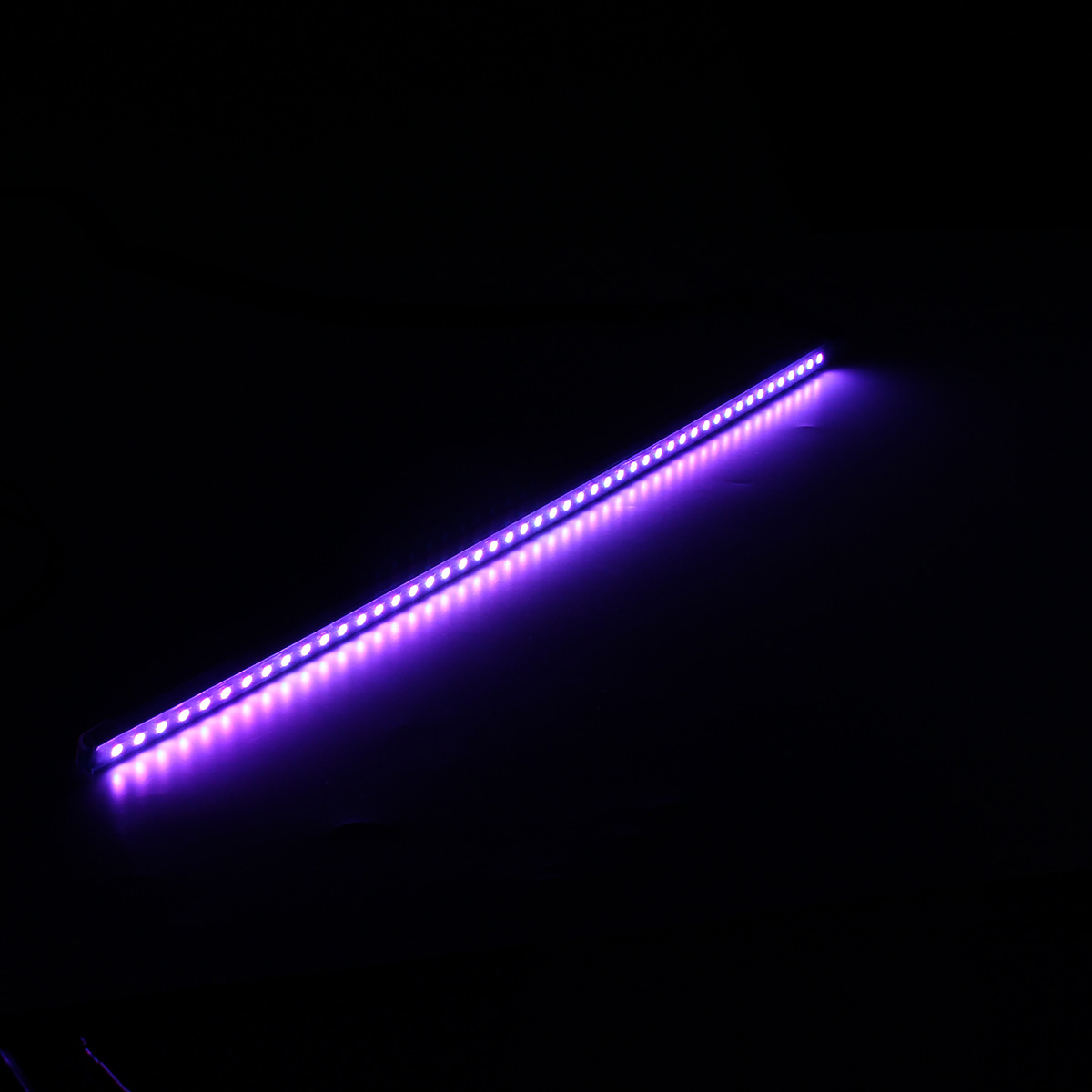 Led Light Strips Rgb 56cm Rgb Led Light Strip Car Under Hood Scanner Knight Rider Strobe Lamp With Remote Controller