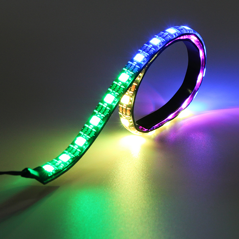 Led Light Strips Rgb Coolmoon 50cm Magnetic Rgb Led Strip Light With 30pcs Led For Desktop Pc Computer Case
