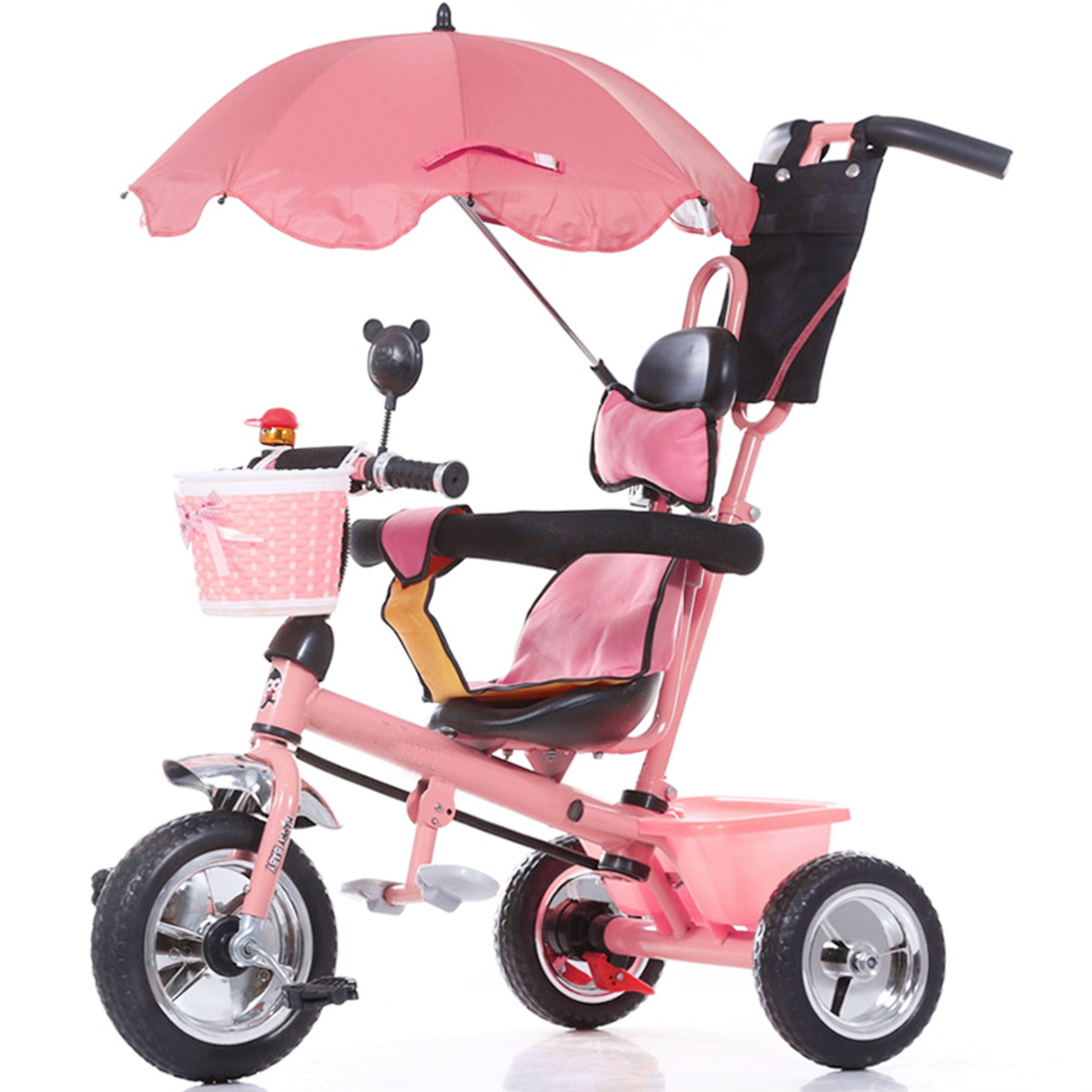 Baby Pram Umbrella Adjustable Baby Pram Pushchair Buggy Stroller Umbrella Sunshade Parasol Brolly Sun Canopy