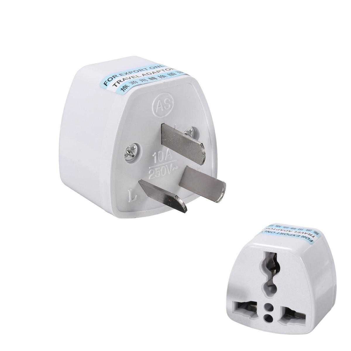 Travel Adapter Eu To Uk Universal Power Plug Travel Adapter 3 Pin Converter 250v 10a Us Uk Eu To Au Ac