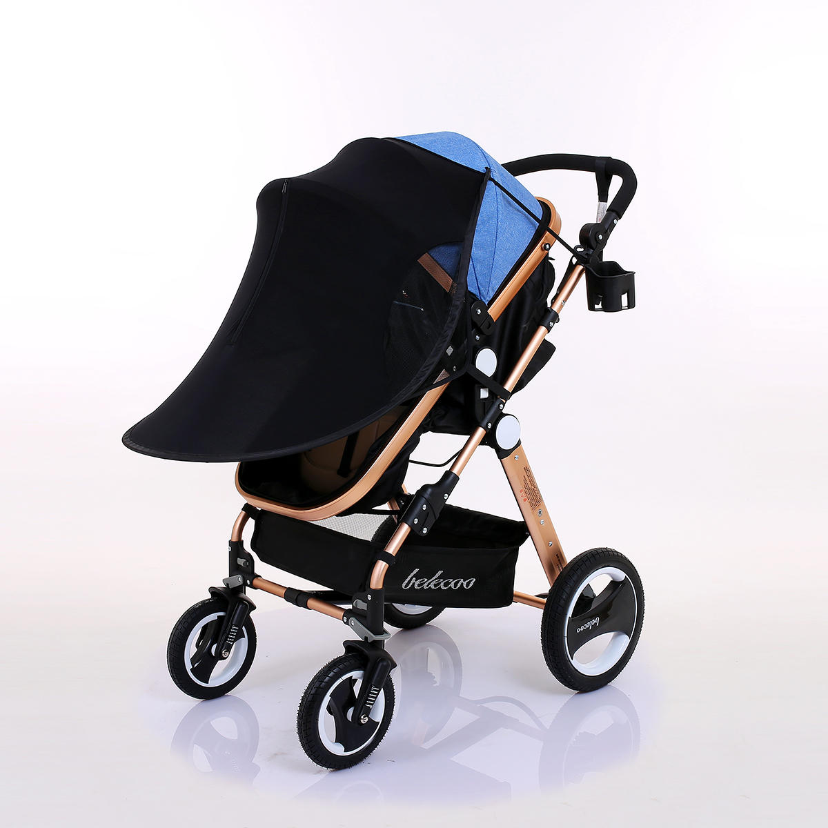 Buggy Stroller India Baby Stroller Sunshade Canopy Cover For Prams Universal Car Seat Buggy Pushchair Cap Sun Hood Stroller Accessories
