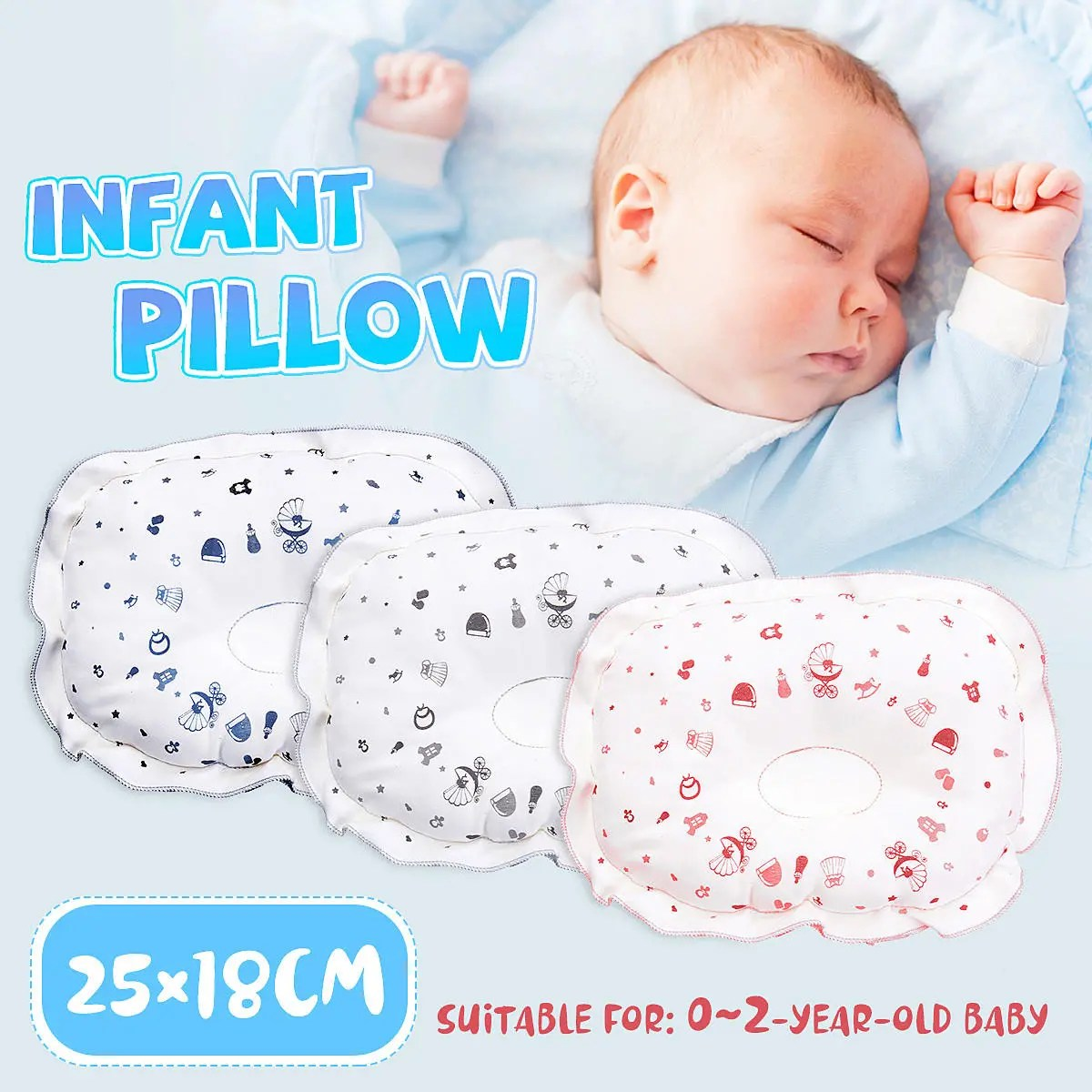 Newborn Babies Online Shopping Newborn Baby Pillow Infant Prevent Flat Head Support Pillow