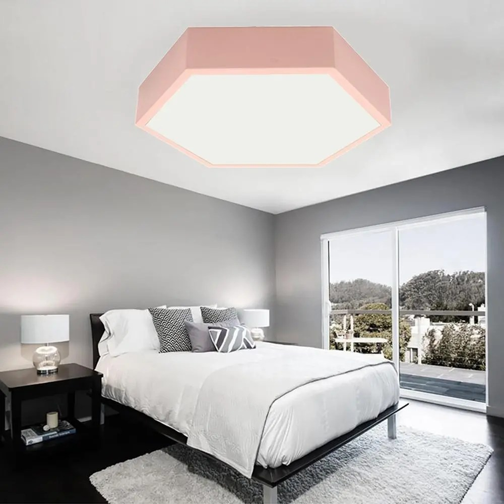 Chambre Complete Led Moderne Led Plafonnier Ultra Mince Surface Mount Lamp Home Chambre Salon 220v