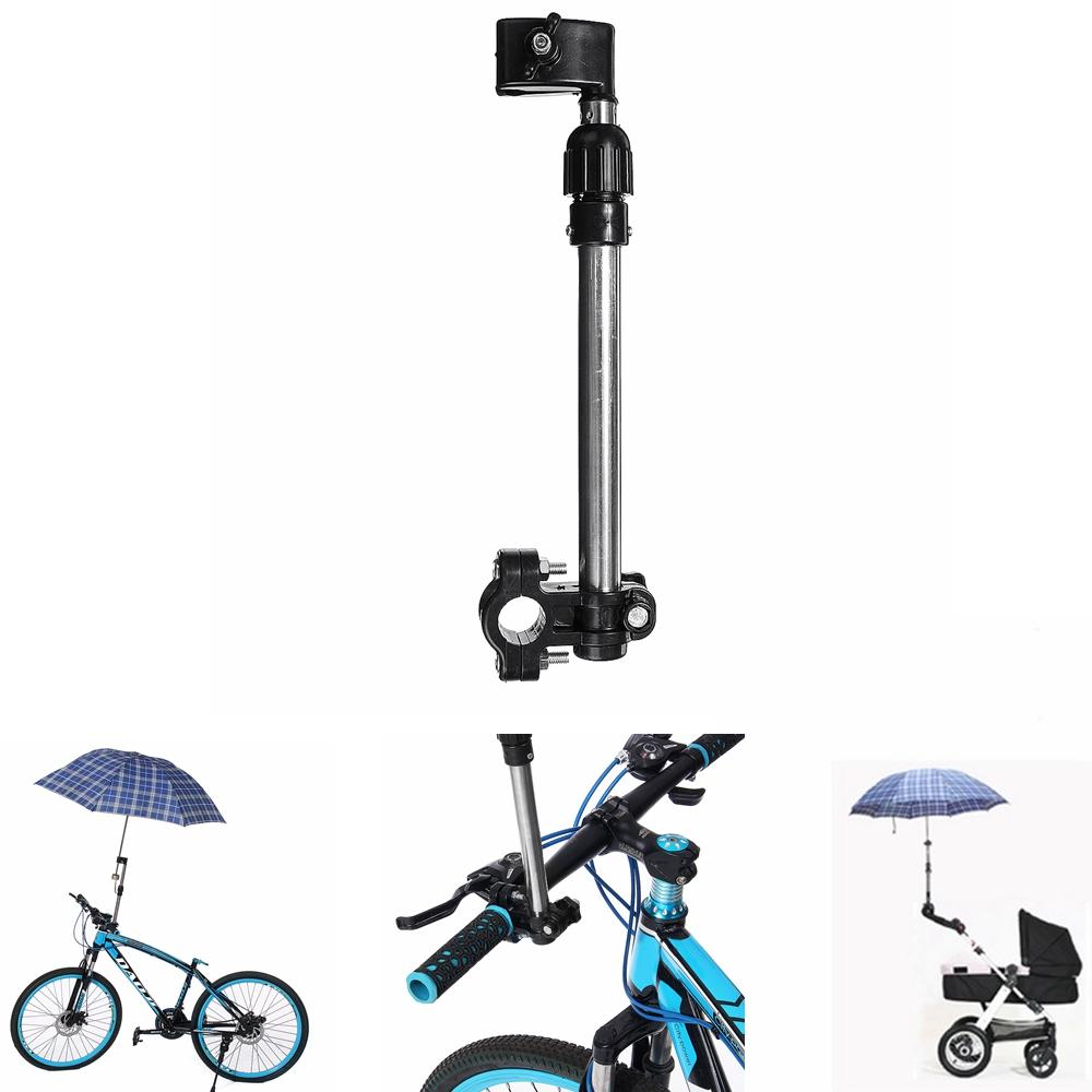 Baby Pram Umbrella Retractable Umbrella Holder Stand Baby Pram Stroller Bicycle Wheelchair Bracket Scooter