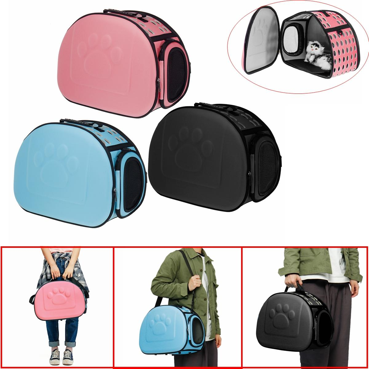 Pet Carrier On Sale Portable Pet Dog Cat Puppy Handbag Portable Travel Carry Carrier Tote Cage Bag Crate Box Holder