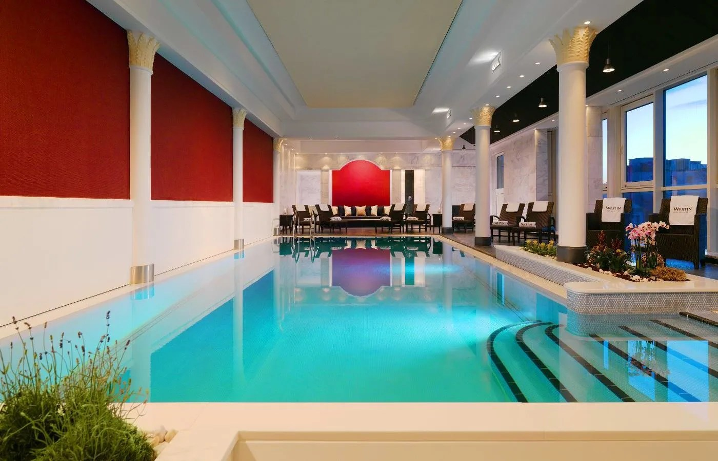 Swimming Pool Frankfurt Hotel Hotel The Westin Grand Frankfurt Frankfurt Trivago