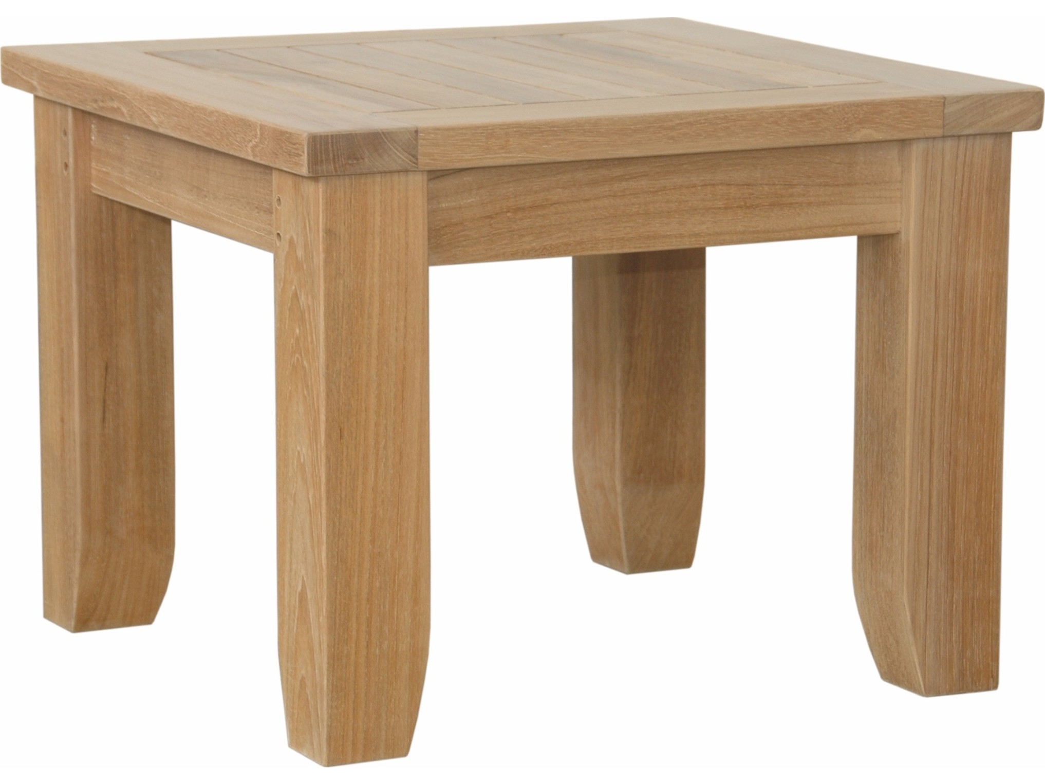 Table Luxe Anderson Teak Luxe 22 Square Side Table