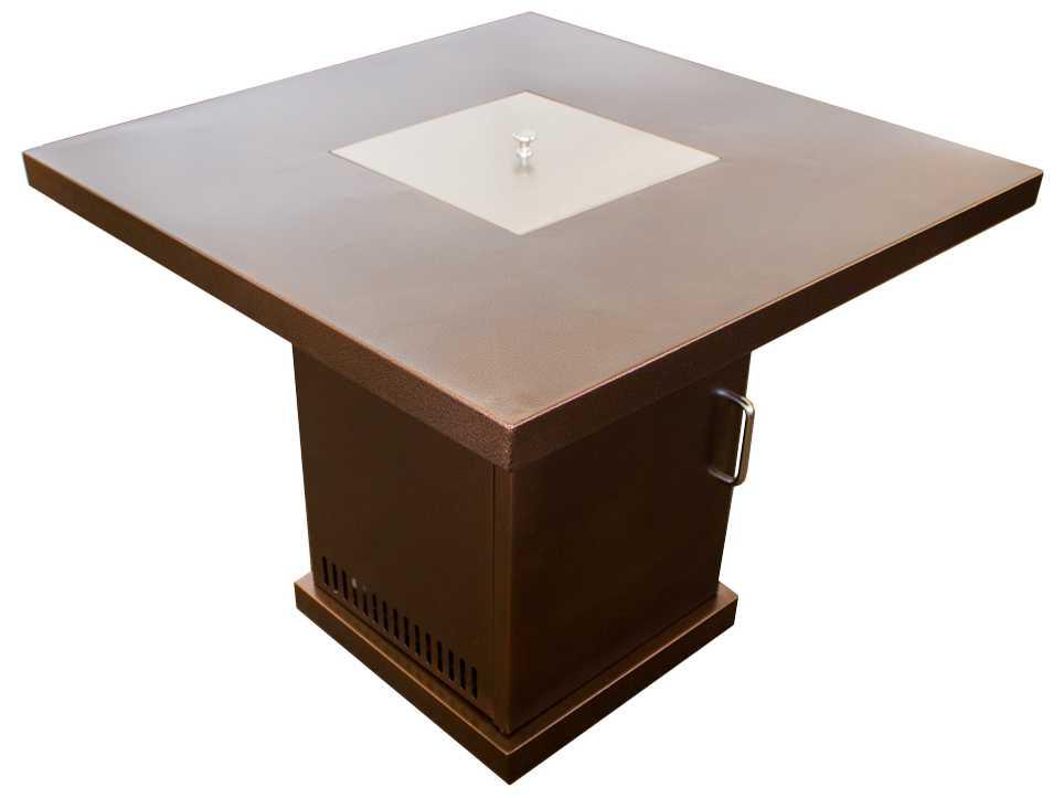 Az Patio Heaters Small Bronze Steel Firepit Gsf Pr Pc