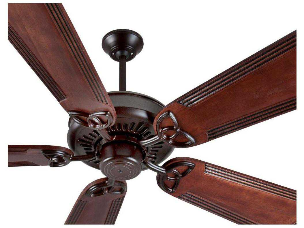 Custom Paddle Fans Craftmade American Tradition Oiled Bronze 56 Inch Wide