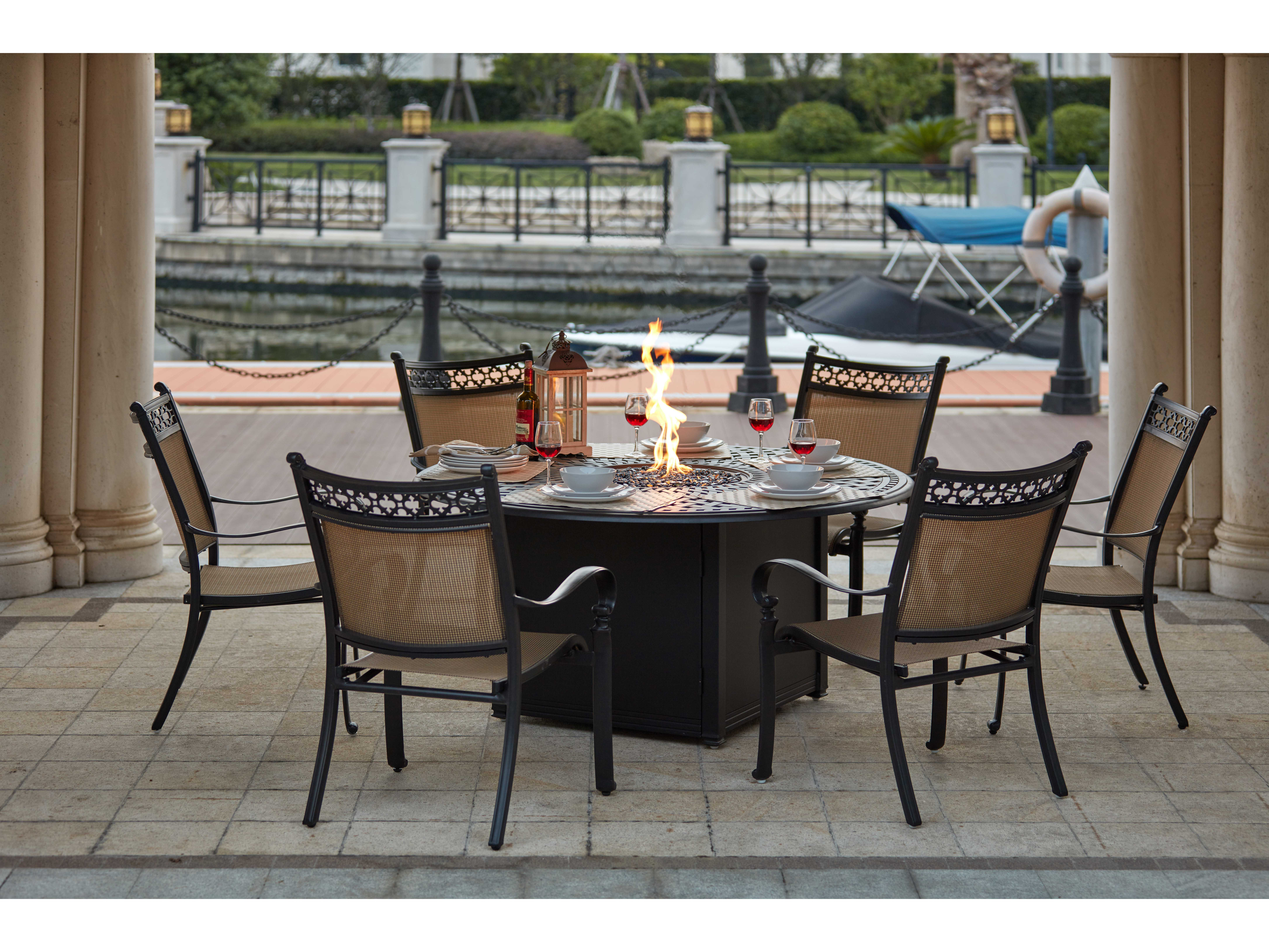 Darlee Outdoor Living Standard Mountain View Cast Aluminum