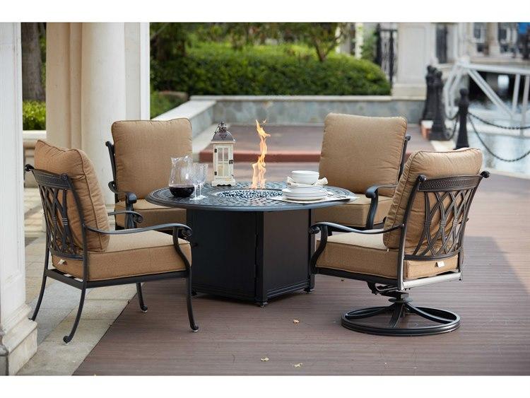 Darlee Outdoor Living Standard Capri Cast Aluminum 5