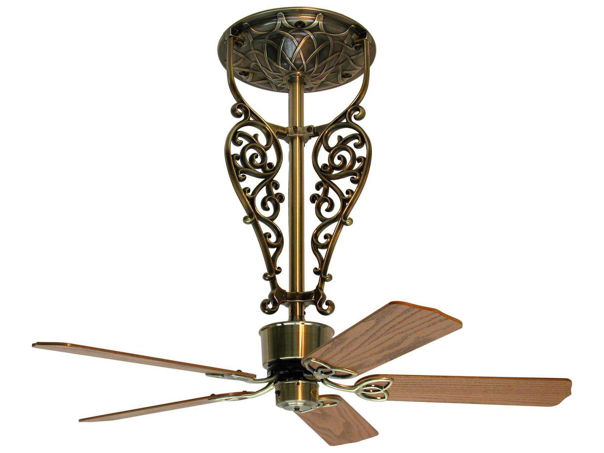 Long Blade Ceiling Fan Fanimation Fans Americana Black 52 39 39 Long Indoor Ceiling
