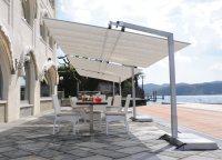 FIM Flexy Aluminum 8' x 12' Rectangular Offset Umbrella ...