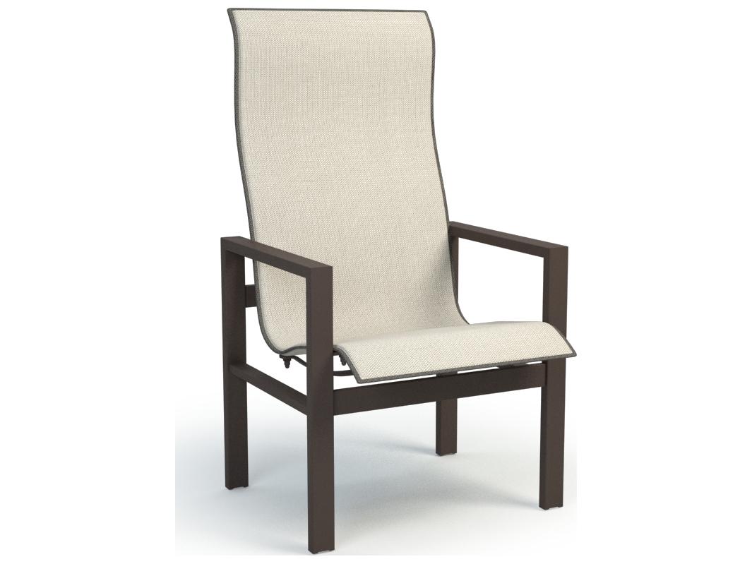 Homecrest Sutton Aluminum Sling High Back Dining Chair 45379