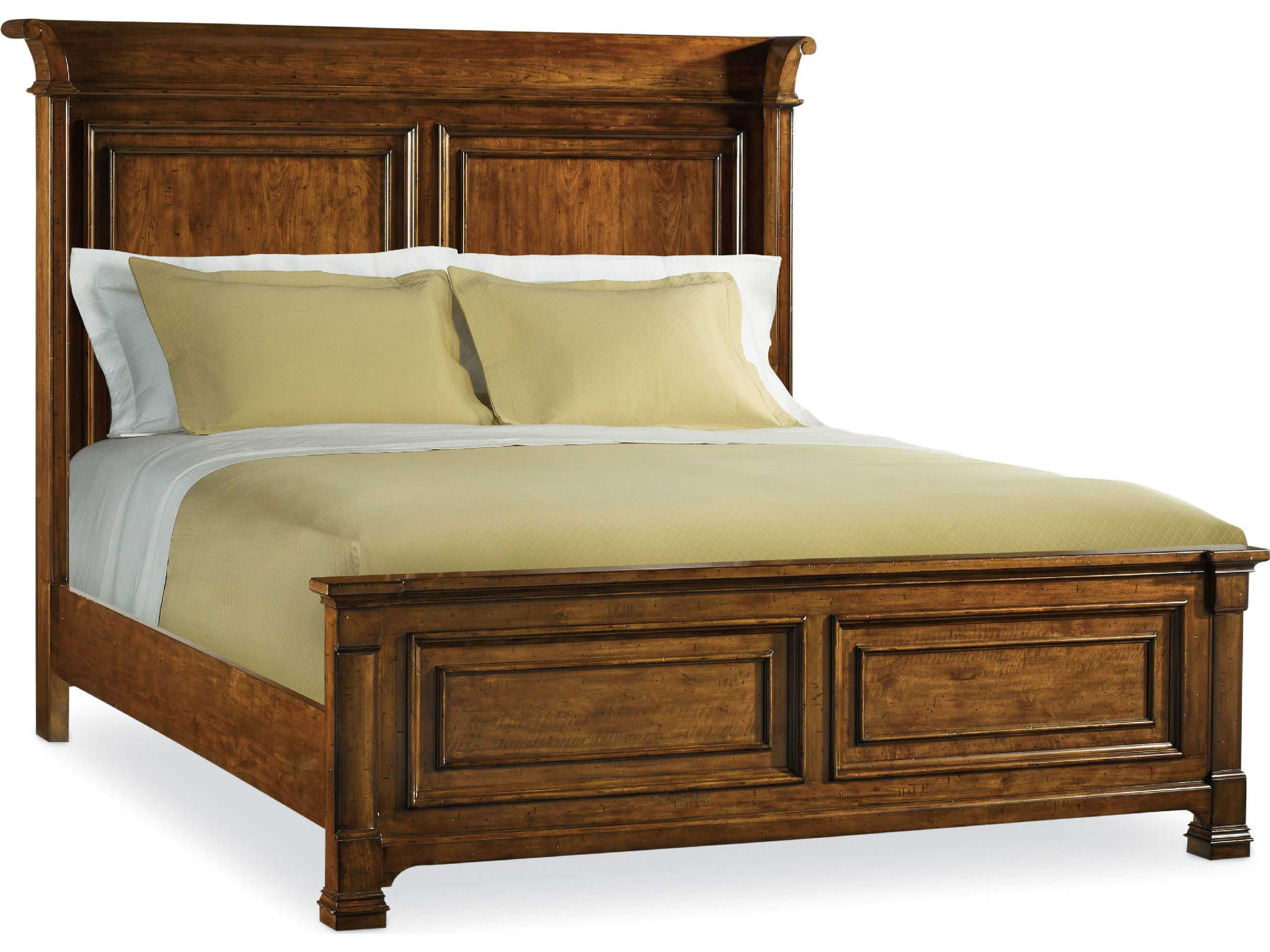 What Is A Panel Bed Hooker Furniture Tynecastle Medium Wood King Size Panel