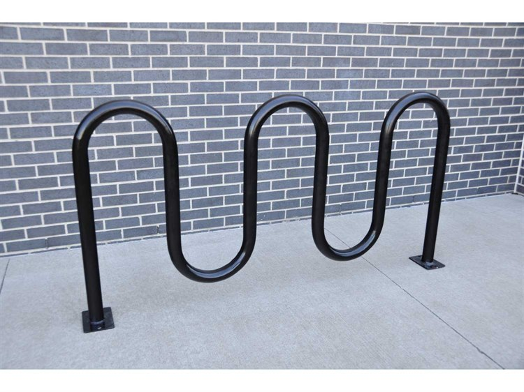 Frog Furnishings Steel 5 Loop Bike Rack Surface Pbbike5sur