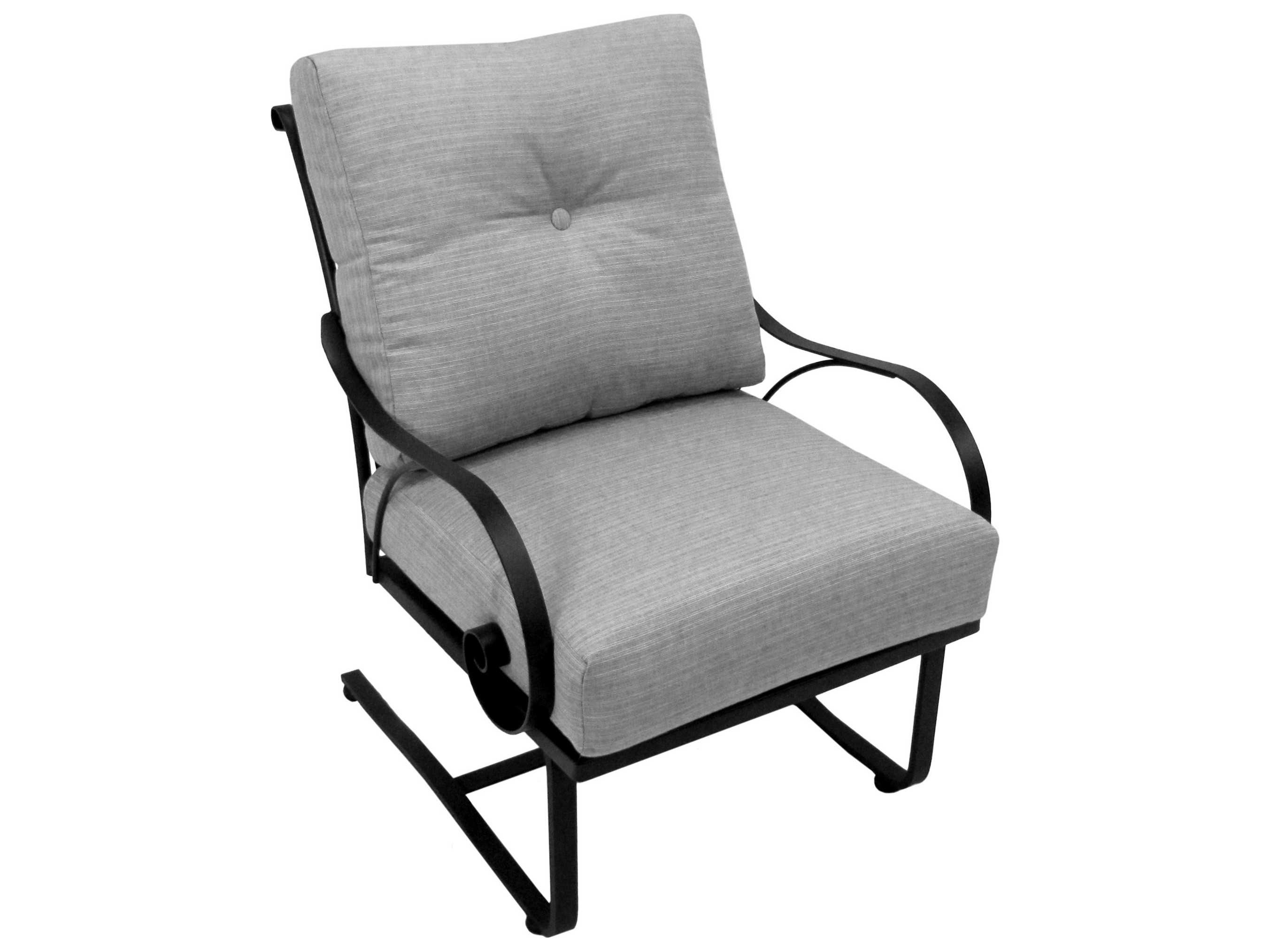 Meadowcraft Monticello Wrought Iron Lounge Set Monls