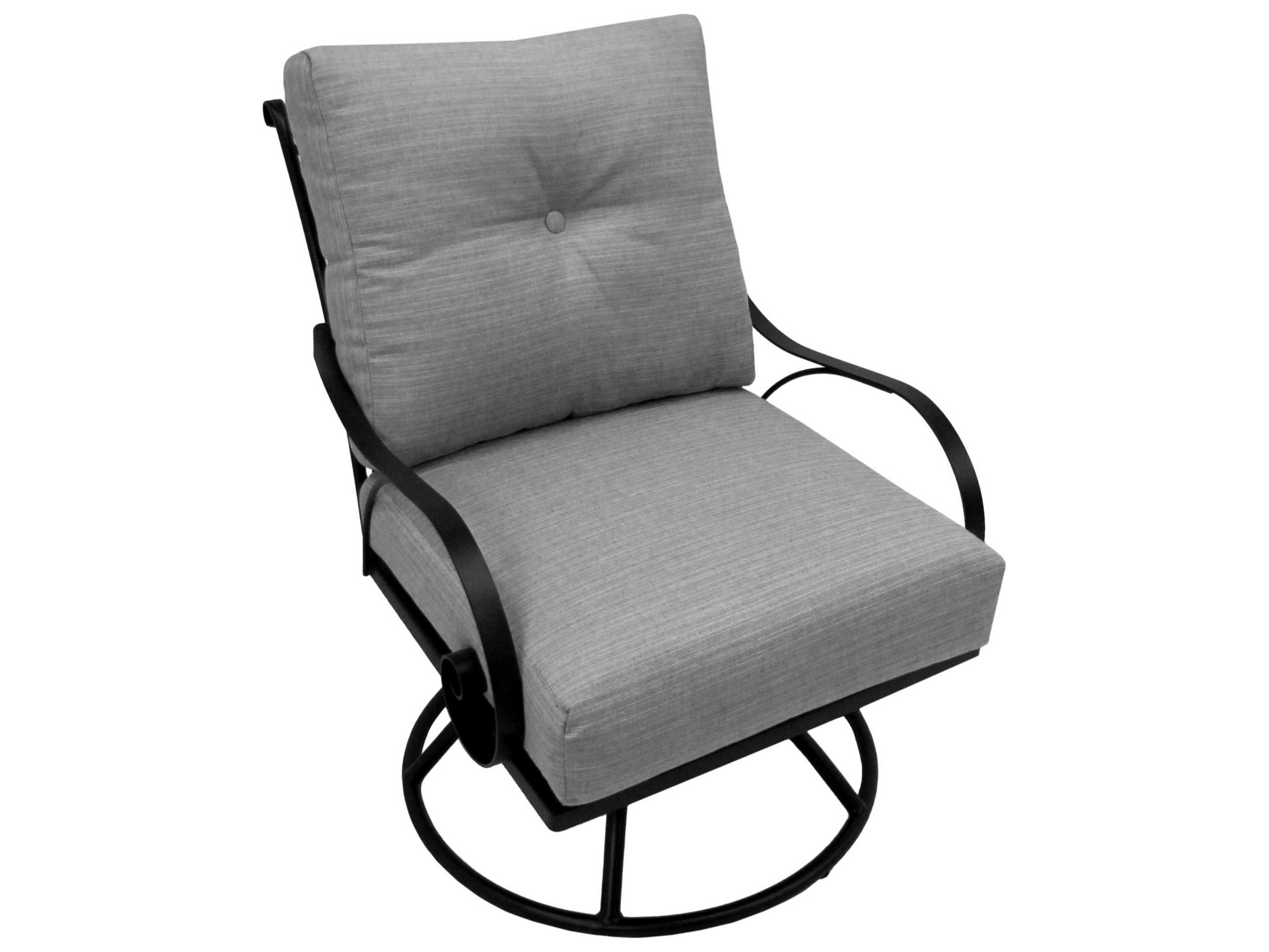 Meadowcraft Monticello Wrought Iron Deep Seated Club