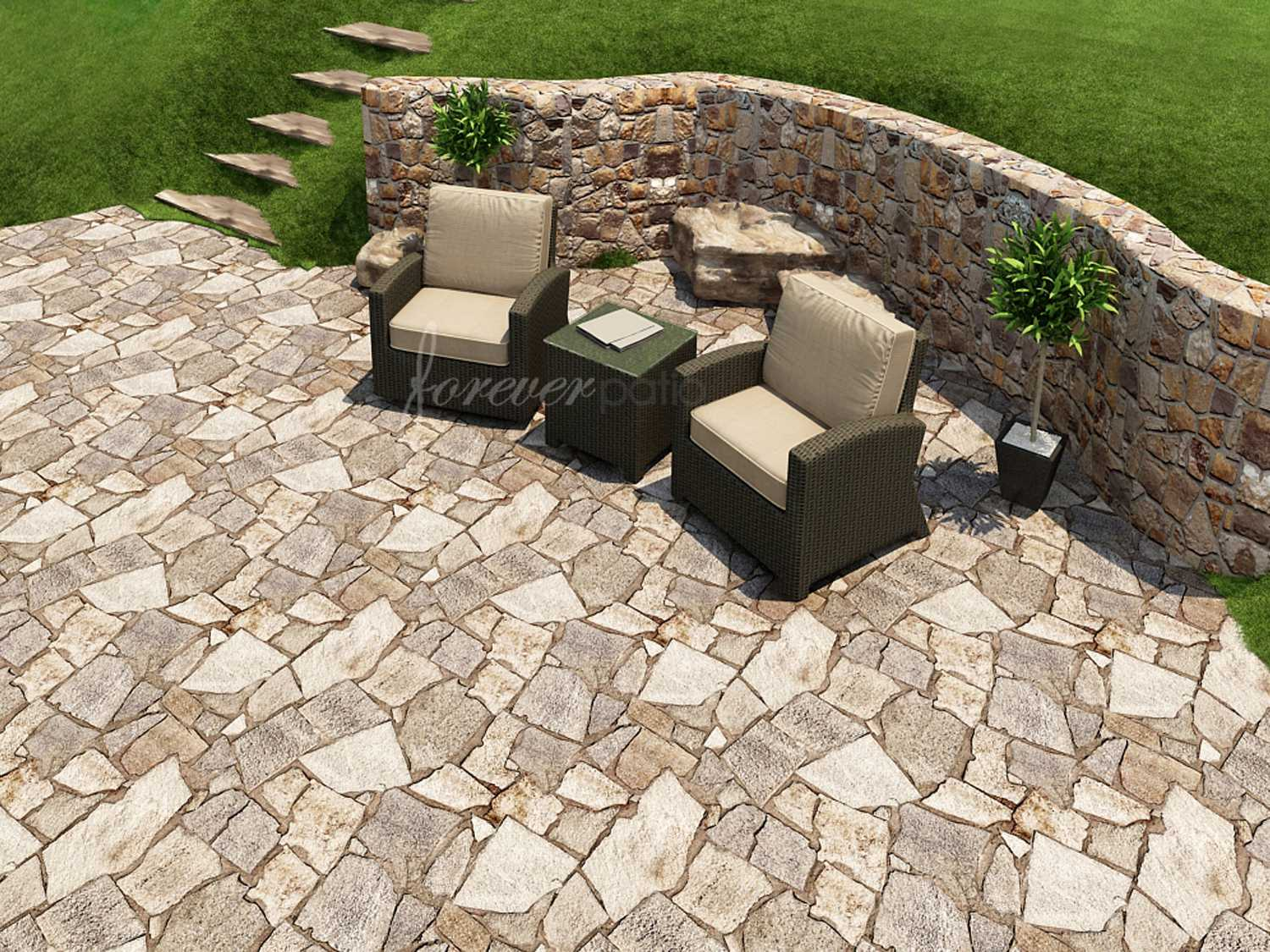 Pergola Cheb Forever Patio Barbados Wicker 3 Piece Chat Set Fp Bar 3ch Eb