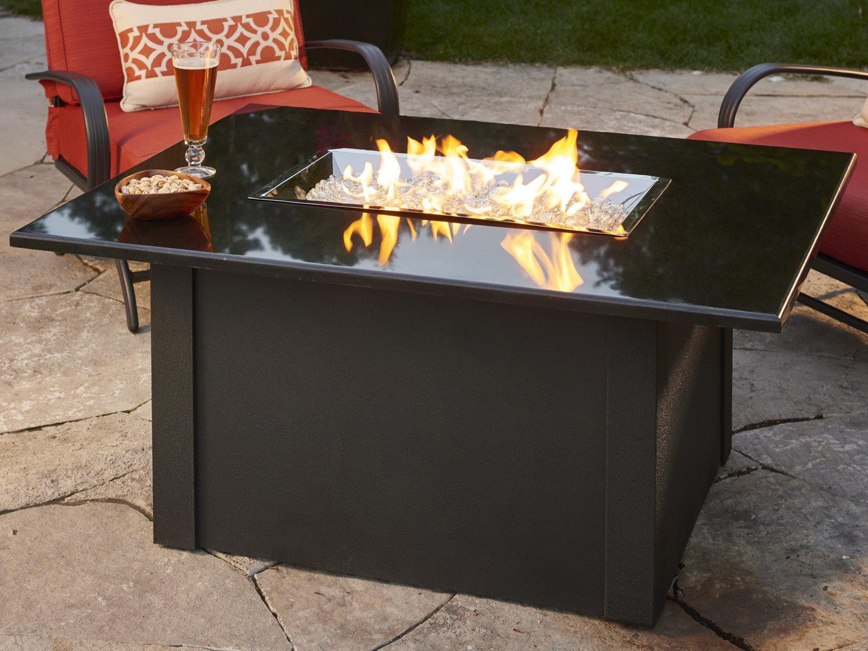 Outdoor Greatroom Grandstone Aluminum 48 X 36 Rectangular