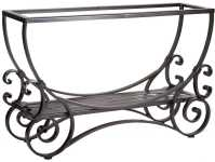 OW Lee San Cristobal Wrought Iron 46 x 14 Rectangular