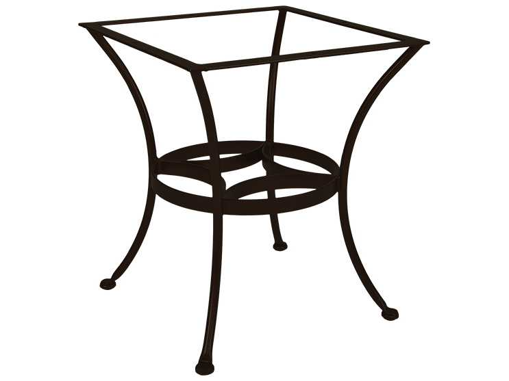 OW Lee Wrought Iron Dining Round Table Base