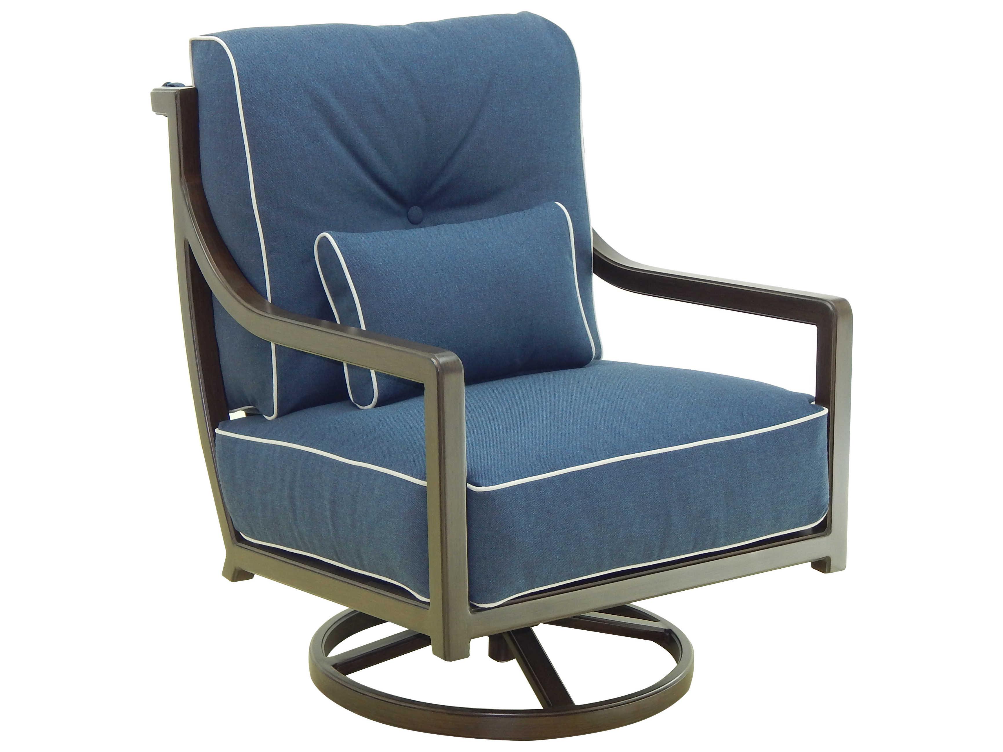 Castelle Legend Deep Seating Aluminum Cushion High Back