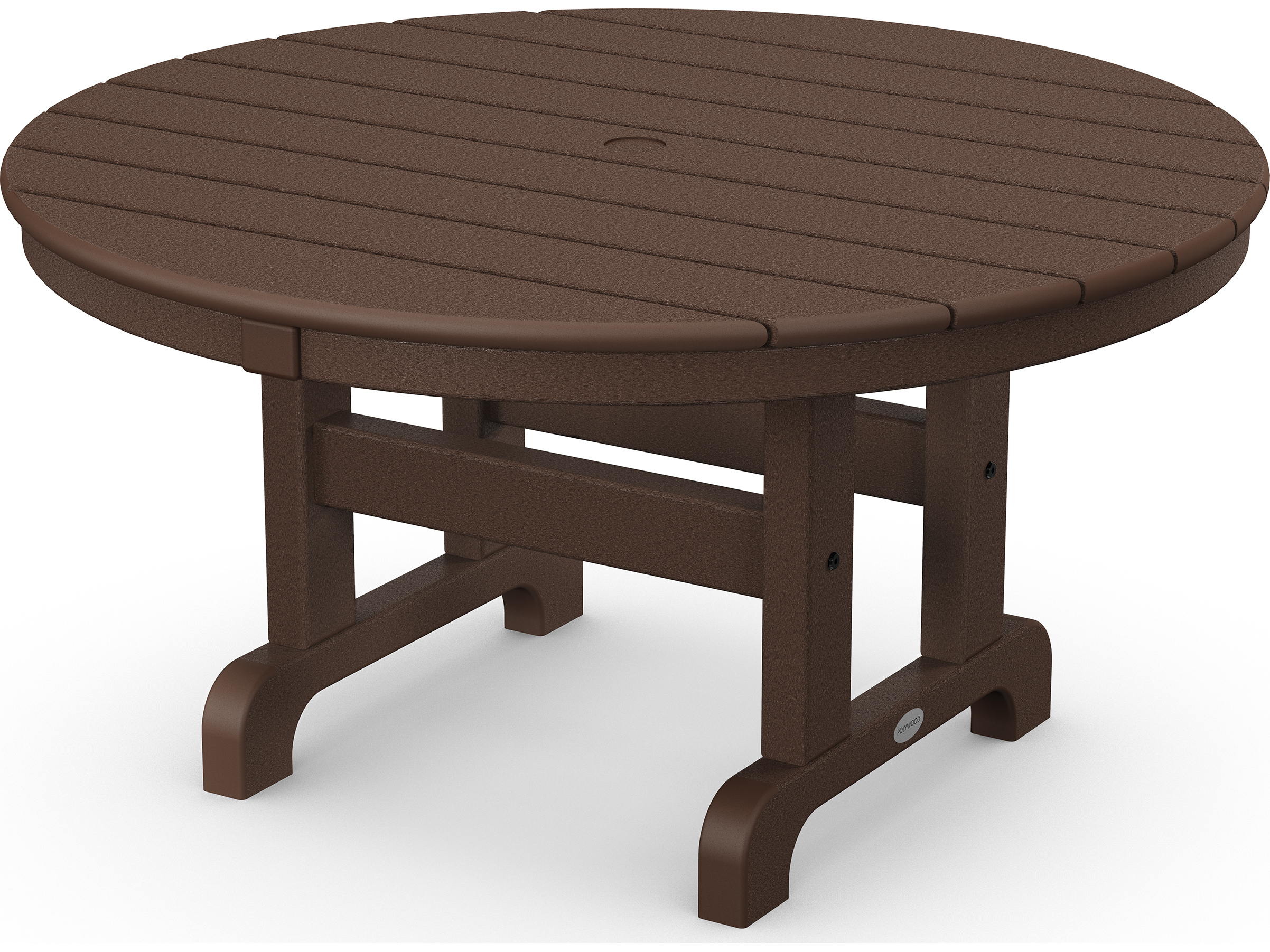 Polywoodr Traditional Recycled Plastic 36 Round Chat Table
