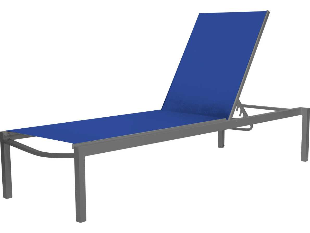 Furniture Chaise Source Outdoor Furniture Fusion Aluminum Armless Chaise
