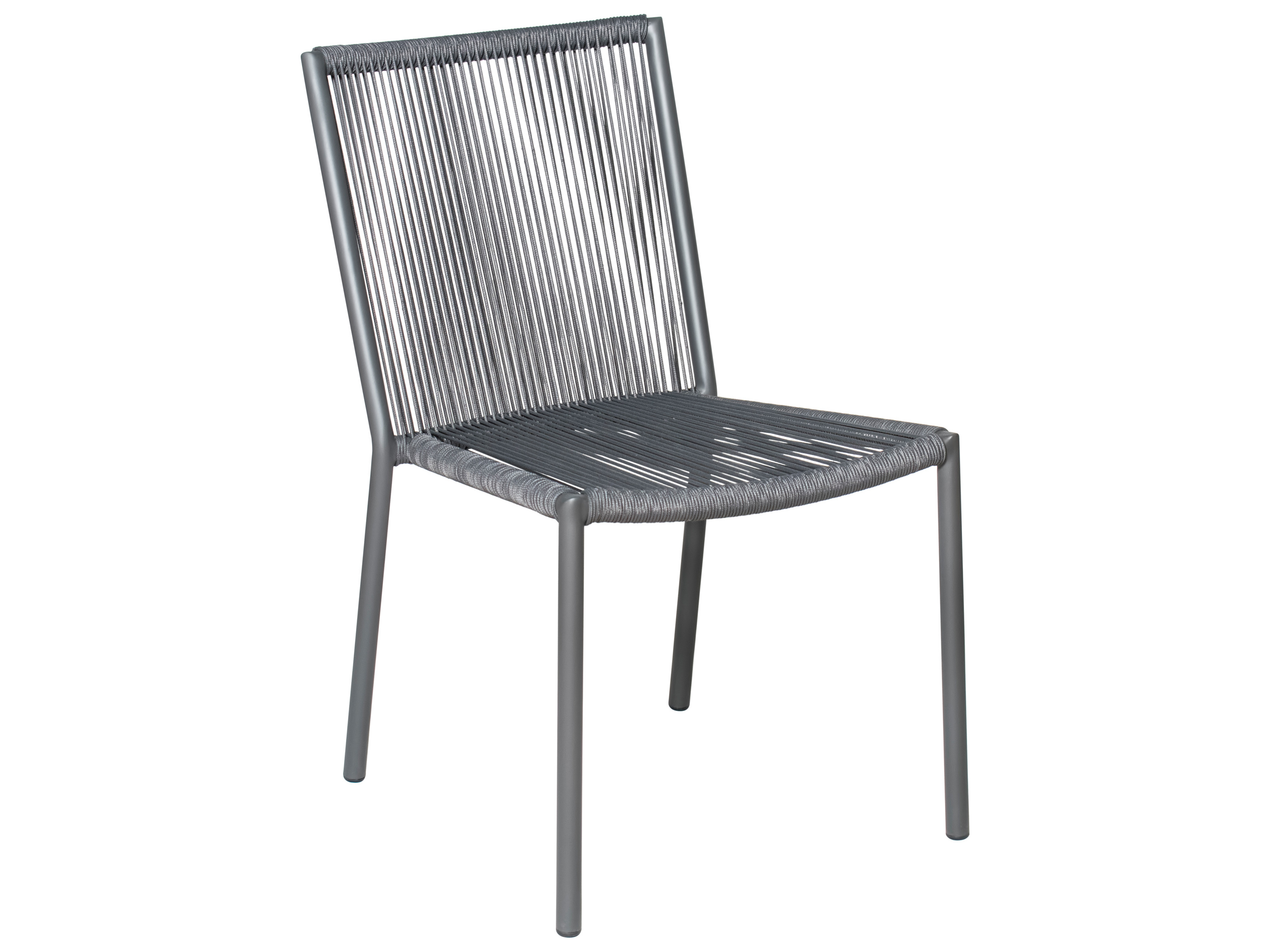 Home Affaire Stockholm Seasonal Living Archipelago Dark Gray Aluminum Stockholm Dining Side Chair Set Price Includes 2