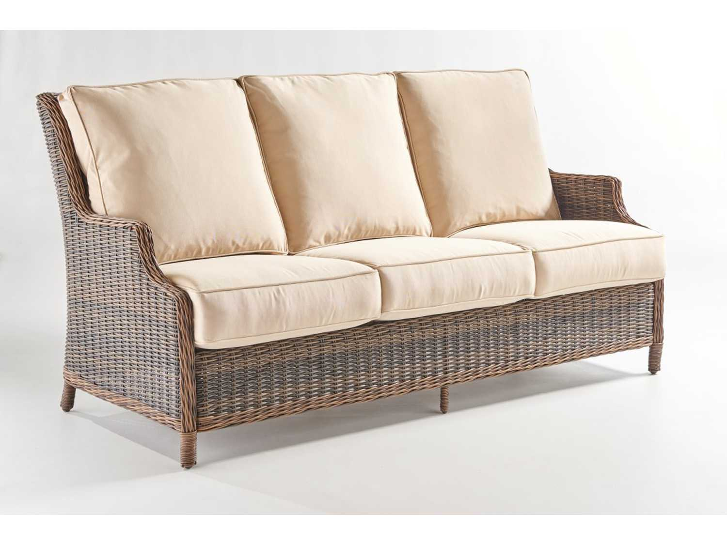 Rattan Sofa South Sea Rattan Barrington Wicker Sofa