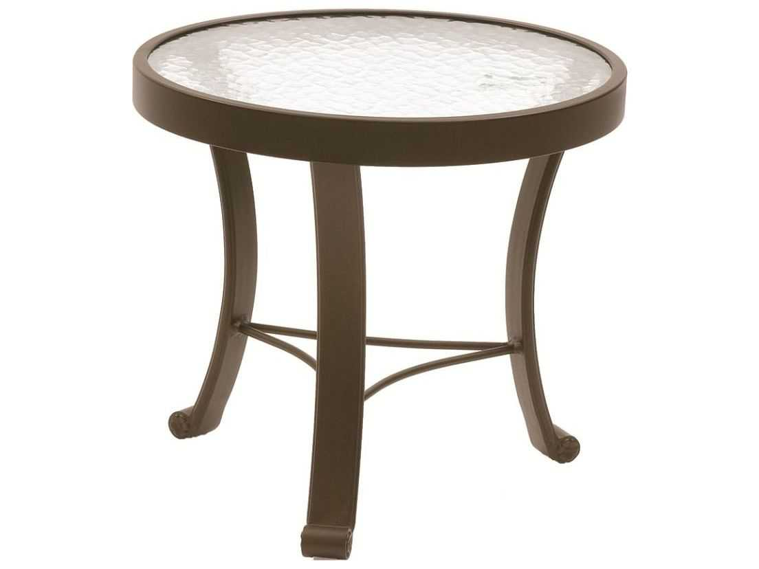 Round Glass Top End Tables Suncoast Cast Aluminum 20 39 39 Round Glass Top End Table 720g
