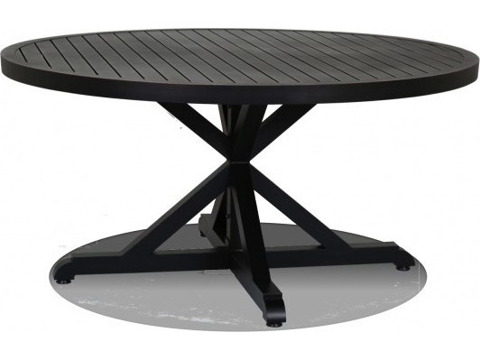Sunset West Monterey Aluminum 60 Round Dining Table 3001 T60