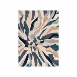 Small Crop Of Teal Area Rug