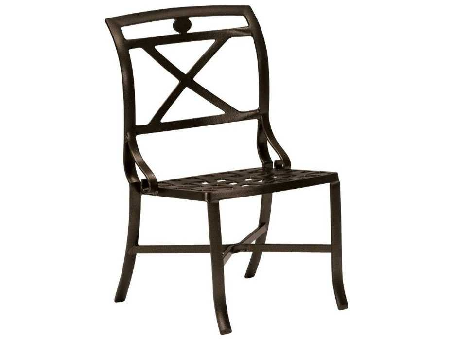 Tropitone Palladian X Back Dining Chairs 170028