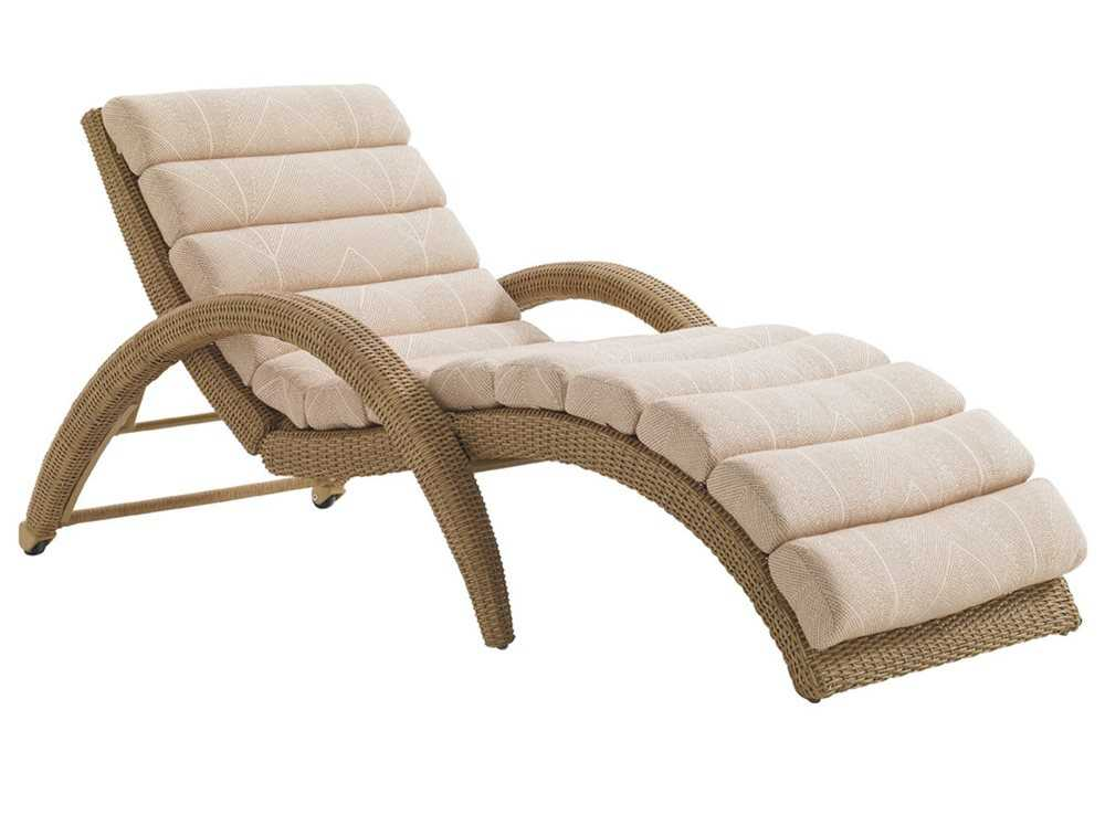 Tommy Bahama Outdoor Aviano Wicker Chaise Lounge 3220 75