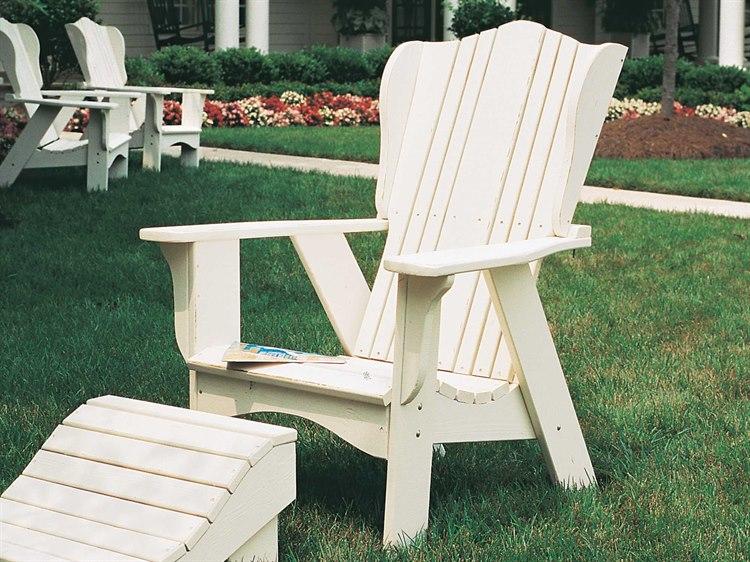 Uwharrie Chair Plantation Series Wood Adirondack Chair 3011